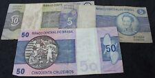 Mélange de Brésil billets de banque | billets de banque | KM Pièces
