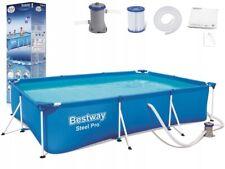 Bestway 56411 24h Steel Pro Rectangular Pool PUMP Filter 300 x 200 x 66 cm