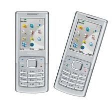 Silver Original 6500C Nokia 6500C 3G Network Unlocked Phone 2MP MP3 Bluetooth