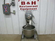 Hobart 20 Qt Heavy Duty Bakery Dough Mixer w/ Stainless Bowl, Paddle A-200