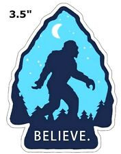 Bigfoot Lives Patch - Sasquatch in the Forest (Iron Sew-On) I Believe Applique