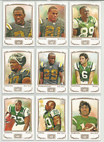 2009 Topps Mayo New York Jets Team Set 10 Cards Joe Namath Edward Ted Kennedy +