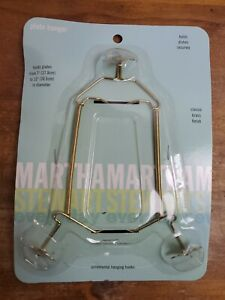 "Martha Stewart Plate Hanger Rack 2001 Holds 7"" to 12"" Diameter"