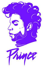 Prince Rogers Nelson - Prince Face with Name Iron On