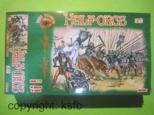 1:72 Alliance #017 HdR Halb Orks Set 3 LotR Half Orcs Herr der Ringe Figuren