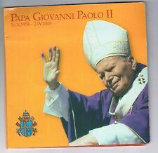 Satz Papa Giovanni Paolo II  mit 2 Zloty + Vatikan Münze im Blister