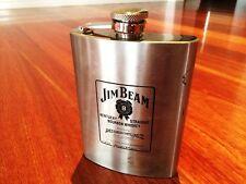 Vintage Collectable Jim Beam Hip flask Man Shed Bar