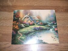 Thomas Kinkade Everett's Cottage dealer preview card 1998