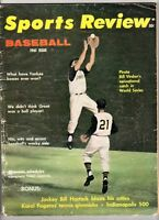 1961 Sports Review magazine baseball Roberto Clemente Pittsburgh Pirates WEAR