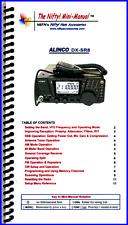 Alinco DX-SR8 Nifty Operating Guide, DX-SR8, DXSR8