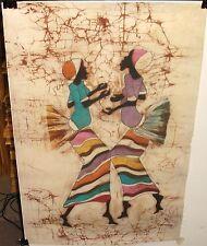 P.NSUBUGA AFRICAN DANCER ORIGINAL BATIK PAINTING #2