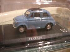 1/43 METAL FIAT 500 bleue ciel !!!!!!