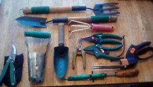 Job lot gardeners hand tools
