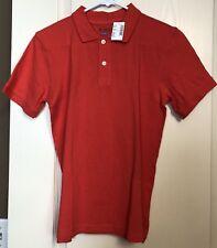 Childrens Place Boys Size 10 12 Orange Polo Shirt Large Short Sleeve Knit NWT