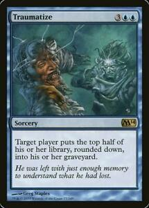 Traumatize - NM - Rare - MTG Magic 2014 M14