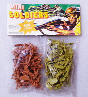 100 Old Vintage Plastic ✱ SMALL SOLDIERS ✱ Toys made Hong Kong ( No Airfix ) #1
