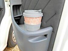 PEUGEOT BOXER CAMPER up2 2006 - NEW STAINLESS STEEL DOOR INSERT CUP HOLDER