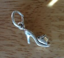 Sterling Silver Tiny 12x6mm High Heel Sandal Shoe Charm!