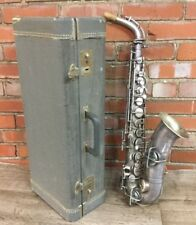 Martin Indiana Alto Saxophone - Silver - serial number 8381  (stock#811076)