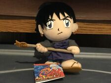 InuYasha Plush Doll Miroku Priest Monk with Staff Anime Character