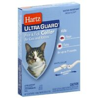 "Hartz Flea - Tick Cat Collar, White 13"" 1 ea (Pack of 3)"