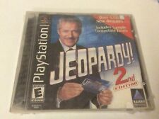 Jeopardy 2nd Edition Sony PlayStation 1 FACTORY SEALED & BRAND NEW PS1 PSone