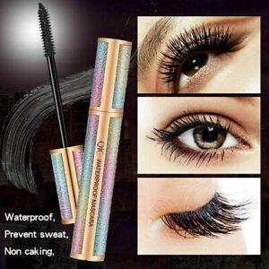 4D Starry Mascara Silk Fibre Eyelash Waterproof Extension Volume Long Lasting