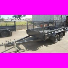 9x5 tandem trailer box trailer with crate local made top quality 2000kgs atm