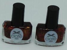 2 Bottles Of CIATE Mini Nail Polish ESPADRILLES PPM099 Sealed