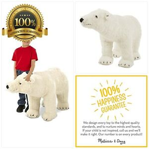 Melissa & Doug Giant Polar Bear