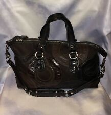 Coach Purse (F15474) Ashley Leather Patchwork Satchel Bag!