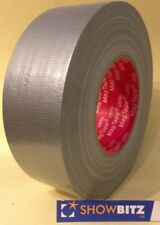 Gaffa SILVER / GREY GLOSS Gaffer duct Tape 50mm X 50m MAGTAPE® Utility tape