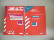 Abitur Mathematik Baden Württemberg Stark 2018 und 2019
