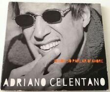ADRIANO CELENTANO IO NON SO PARLAR D AMORE (DIGIPACK) CD ALBUM 1999 BUONO!