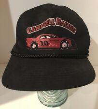 Vintage Campbell Racing Painting #10 Hat Cap Braided Cord Snapback Cobra