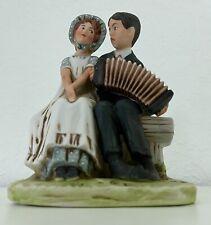 New Listing1973 Vintage David Grossman Lovers Norman Rockwell's 1924 Sat Eve Post Figurine