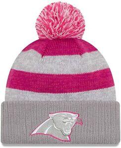 New Era NFL Carolina Panthers Women's 2016 Breast Cancer Awareness Knit Hat