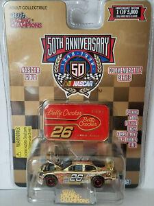 Johnny Benson Betty Crocker 1/64 Racing Champions Gold Diecast Car / New On Card