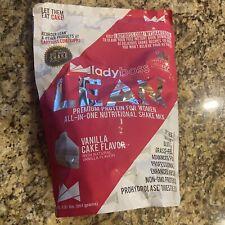 Lady Boss Lean Vanilla Cake Premium Protein Shake 1 Bag LadyBoss Exp. 10/2022
