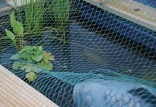 Teichnetz 5 x 6 m grün | Laubnetz |Laubschutznetz| Vogelschutznetz |Schutznetz