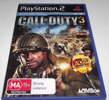 Call Of Duty 3 PS2 PAL *No Manual*