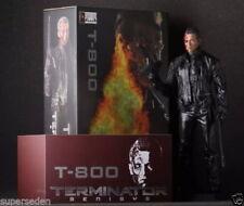Crazy Toys T-800 Terminator Battle Damaged version 12'' Statue Figure Figurine