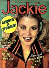JACKIE MAGAZINE #786 BOOMTOWN RATS COLOUR POSTER, SMOKIE, LEATHER FASHIONS