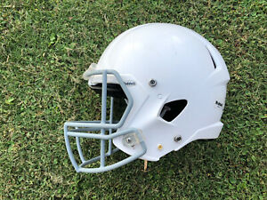 Riddell Victor speed youth Football Helmet white small S clean