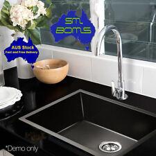High Grad Wash Bowl Kitchen Sink Cefito 600 x 450mm Stainless Steel Basin- Black