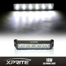 "18W 7.5"" DRL Daytime Running LED Eagle Eye Spot Fog Side Light White 6000k 6K"