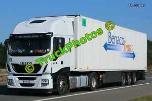 Truck Photo TR-00891 Iveco  Reg:- FD899VH Op:- Benaco Trans M20 Dover Lorry Kent