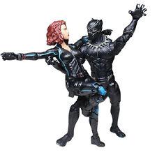 "6"" Marvel Legends Black Widow&Black Panther Action Figure Avenger Age of Ultron"