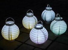 LED Party Lampion Ø 15cm In 5-pastell-farben Gartenlaterne 137148