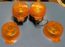 Kreidler Hercules Zundapp PX50 PA50 pair indicators + 2 lenses ULO265